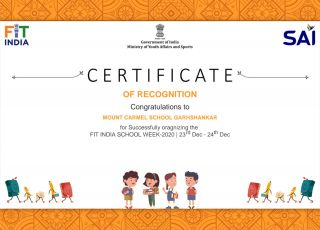 Fit India School Certificate